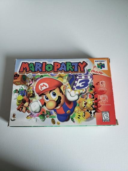 Mario Party 1 Nintendo 64 Na Caixa Em Ótimo Estado