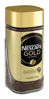 Kit C/ 6 Nescafé Gold Intenso Café Solúv 6x100g Maravilhoso!