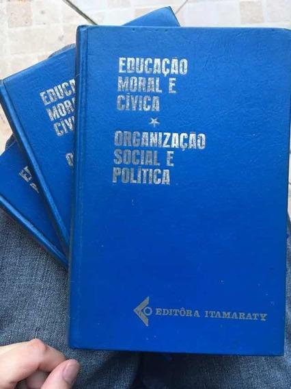 Enciclopédia 3 Volumes Educação Moral E Cívica
