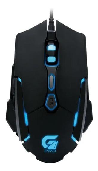 Mouse para jogo Fortrek Pro M1 Gamer preto