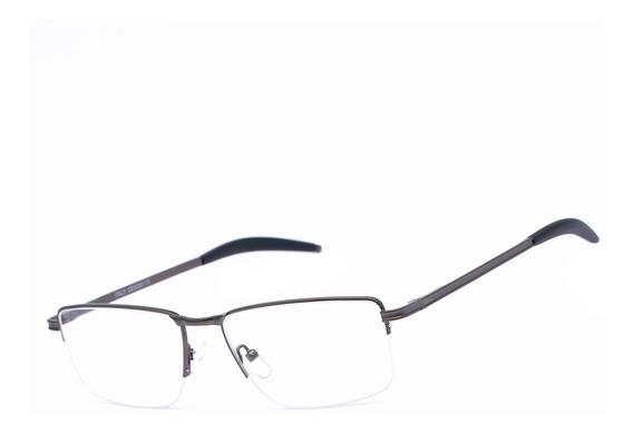 Armação Oculos Ogrife Og 1746-c Masculino Com Lente Sem Grau