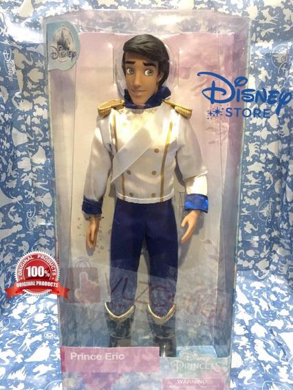 Boneco Disney Store Principe Eric A Pequena Sereia