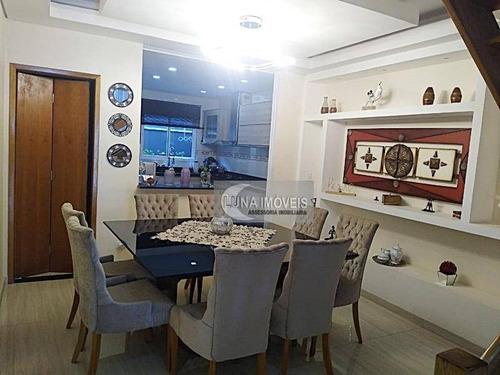 Imagem 1 de 20 de Casa Com 3 Dormitórios À Venda, 151 M² Por R$ 540.000,00 - Parque São Vicente - Mauá/sp - Ca0467