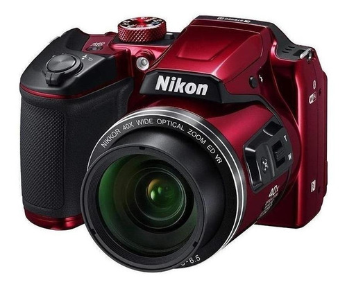 Nikon Coolpix B500 compacta avanzada color  rojo
