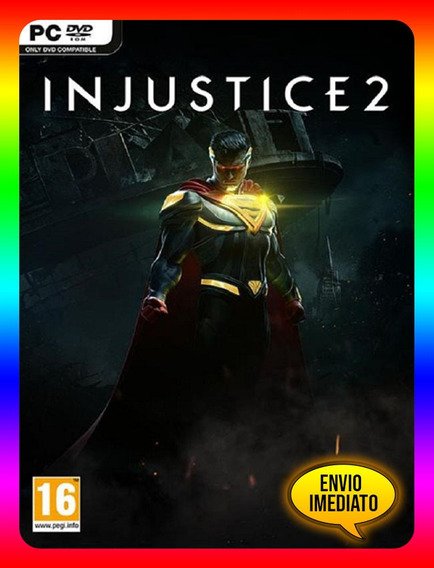 Injustice 2 Pc - Steam Key (envio Já)