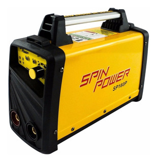 Máquina De Solda Inversora Sp160p 220v 160p Spinpower Vulcan
