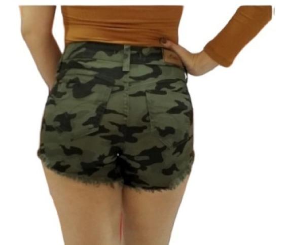 Bermuda Shorts Jeans Feminino Estilo Pitbull Hot Pants Verão