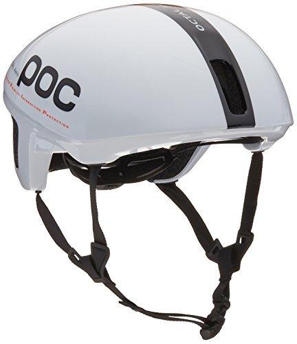 Casco De Bicicleta Poc Octal Aero (cpsc), Blanco De Hidrógen