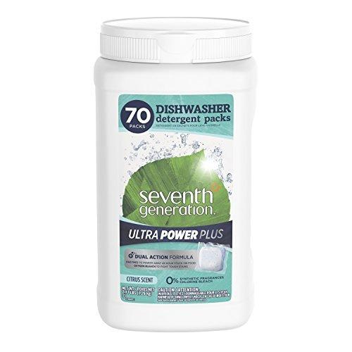 Seventh Generation Ultra Power Plus Dishwasher Detergent Pac