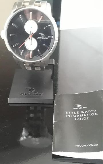 Relógio Rip Curl Detroit D24 Sss Black Aço Inox