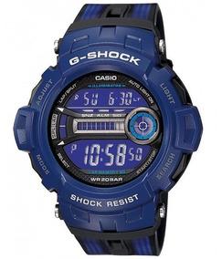 Relógio Casio G-shock Digital Gd-200-2dr Azul
