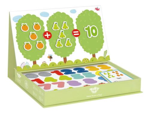 Imagen 1 de 3 de Juego Magnetic Box Matemáticas Puzzle