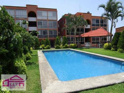 Departamento Con Alberca En La Pradera, Cuernavaca Morelos.