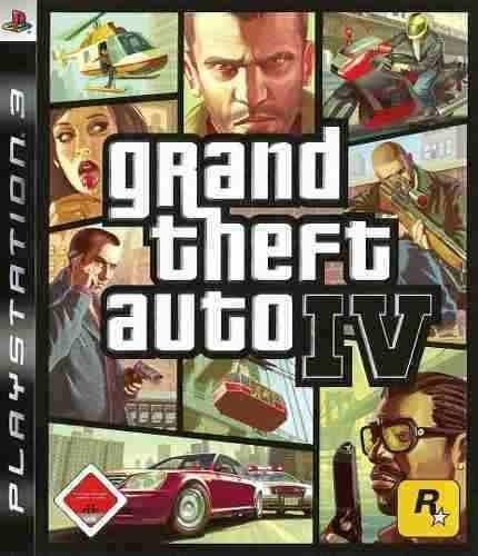 Gta 4 Grand Theft Auto Iv - Jogos Ps3 Playstation 3 Psn