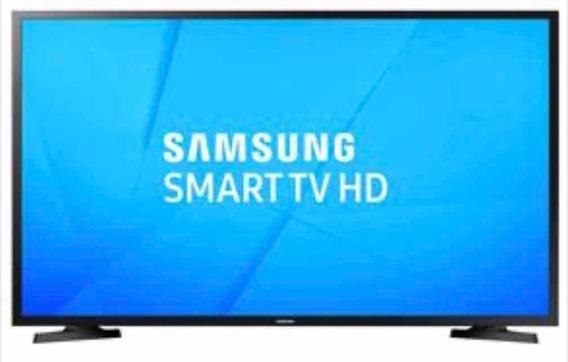 Smart Tv Samsung 32 Com Tela Trincada
