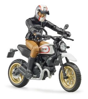 Moto Ducati Enduro Bruder Escala 1:16 63051