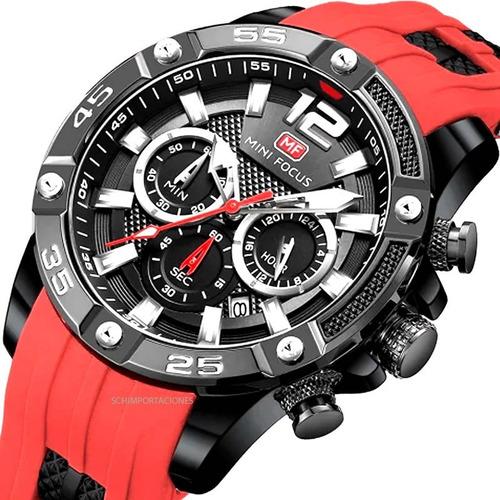 Reloj Mini Focus Deportivo Original Cronograf