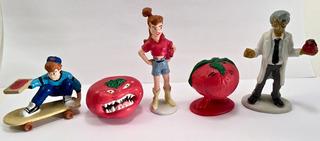 Attack Of Killer Tomates 5 Figuras Del Cartoon Applause 1989