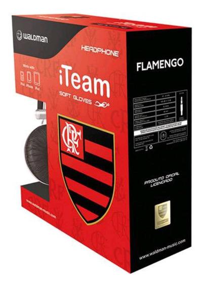 Fone Do Flamengo Edição Limitada Oficial Waldman