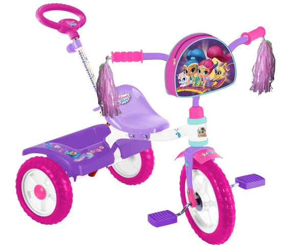 Triciclo Shimmer And Shine R12 Barra Empuje