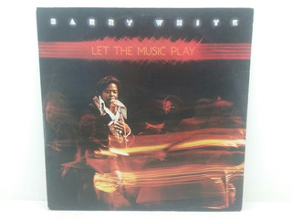 Lp - Barry White - Let The Music Play - 1976