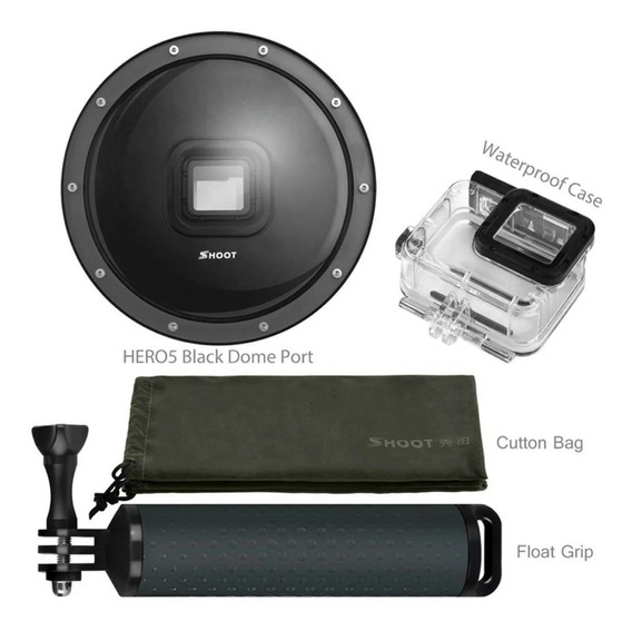 Dome 6 Polegadas Gopro Hero 5, 6 E 7 Black Shoot