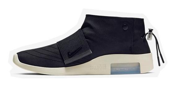 ( 42 ) Tênis Nike Air Fear Of God Moc Fog Black Fossil