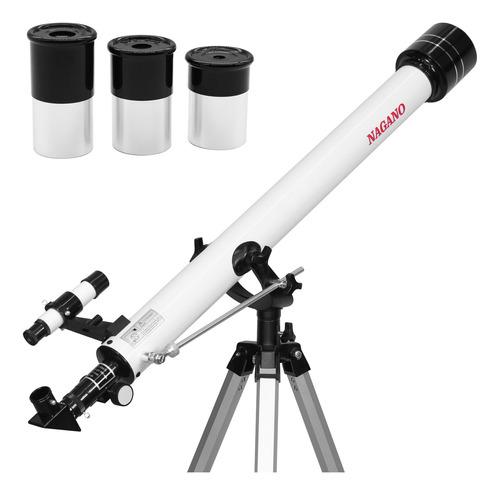 Telescópio Refração Astronômico 60x900 - 675x Com Tripé
