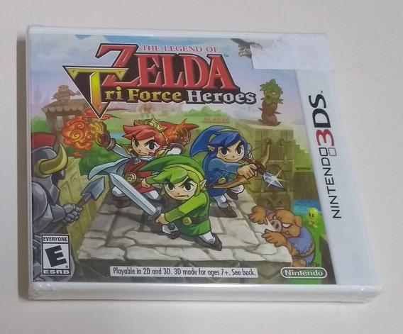 The Legend Of Zelda - Tri Force Heroes - Novo Lacrado 3ds