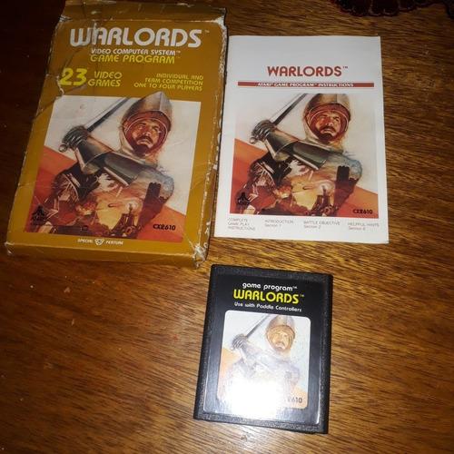 Cartucho Atari Warlords 1981 Original  Made U.s.a.s/uso