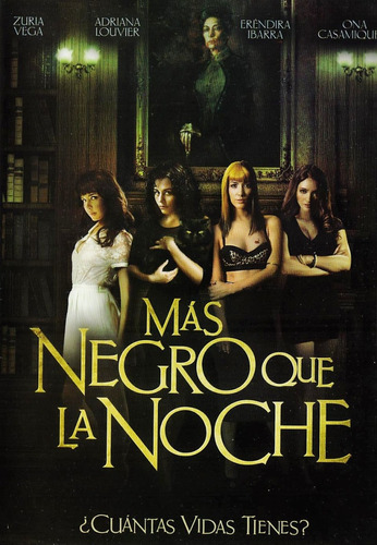 Mas Negro Que La Noche Zuria Vega Pelicula Original Dvd