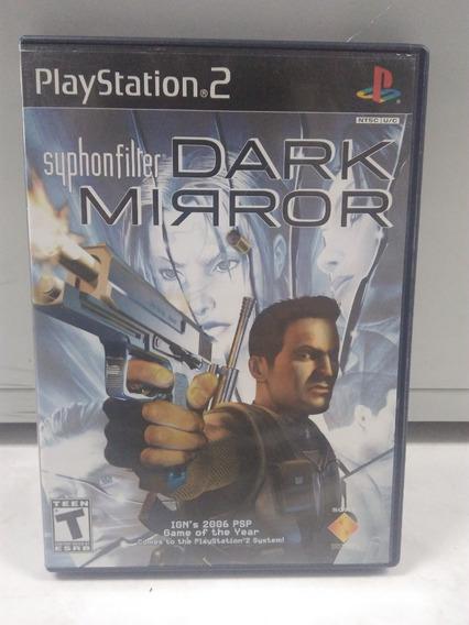 Syphon Filter: Dark Mirror - Playstation 2 - Original