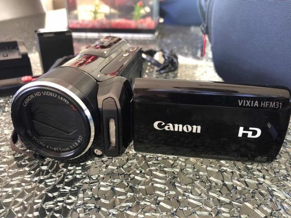 Filmadora Canon Vixia Hf M31 + Acessórios