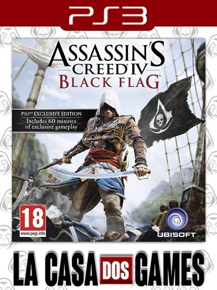 Assassins Creed 4 Black Flag - Iv - Português - Envio Já