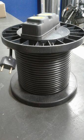 Extensão Eletrica Carretel 20 Mt Cabo Pp 2x1mm Emborrachado