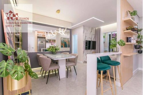 Apartamento Com 2 Dormitórios À Venda, 48 M² Por R$ 303.906,68 - Vila João Basso - São Bernardo Do Campo/sp - Ap2745