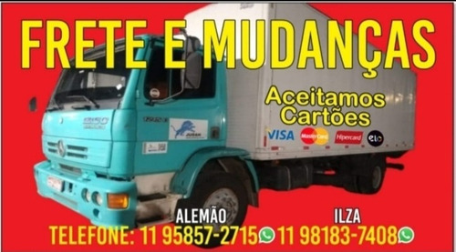 Fretes, Transportes, Mudanças,p/todo Brasil