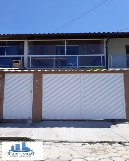 Casa De 2 Quartos, Pronta Para Morar Em Itacuruçá- Mangaratiba/rj - 257 - 34209956