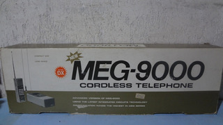 Telefone Rural S/fio _ Meg-9000 Dx _ Made In Japan