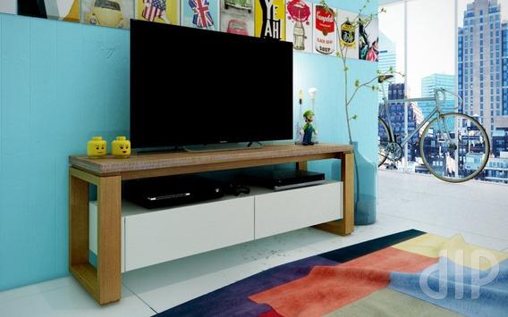 Rack Para Tv Até 55 Polegadas 2 Gavetas Loft Artemobili