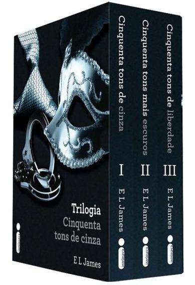 Trilogia Cinquenta Tons De Cinza - Livros - Perfeito Estado