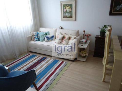 Imagem 1 de 6 de Apartamento À Venda, 48 M² Por R$ 300.000,00 - Vila Campestre - São Paulo/sp - Ap0720