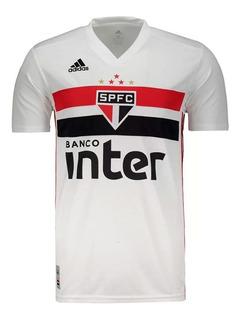 Camisa adidas São Paulo Oficial I 2019/2020 Fan S/n° Masculi