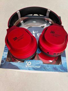 Fone De Ouvido Headphone Ketchup Kt-463 Cores Original