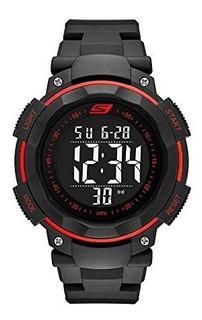Skechers Sr1022 Reloj Digital Multifunción Para Hombre Exte