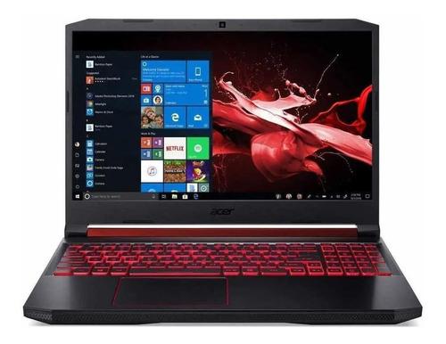 """Imagem 1 de 4 de Notebook gamer Acer Aspire Nitro 5 AN515-54 preta 15.6"""", Intel Core i5 9300H  8GB de RAM 1TB HDD 128GB SSD, Nvidia GeForce GTX 1650 60 Hz 1920x1080px Windows 10 Home"""