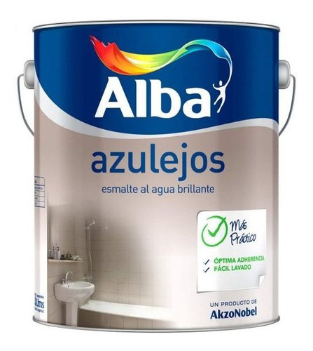 Pintura Esmalte Para Azulejos Alba X 3.6 Lts