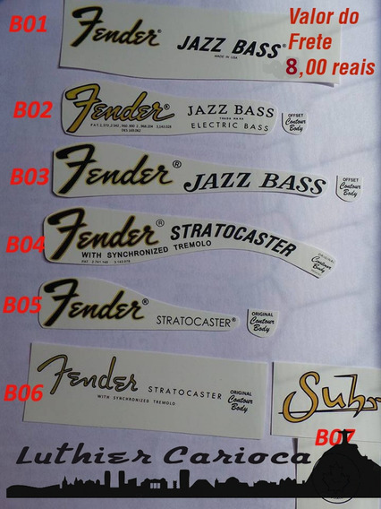 2 Decal Fender Waterslide Dois Decais