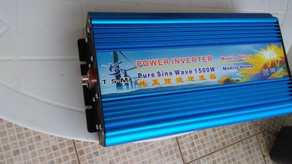Inversor 1500w Pico3000w Onda Senoidal Pura 12v Saida 110v