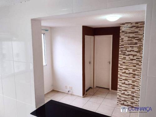 Imagem 1 de 10 de Apartamento Com 2 Dormitórios, 45 M² - Venda Por R$ 165.000,00 Ou Aluguel Por R$ 700,00/mês - Guaratiba - Rio De Janeiro/rj - Ap1105